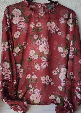 Блуза в цветочный принт от primark