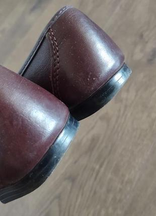 Женские кожаные туфли размер 366 фото