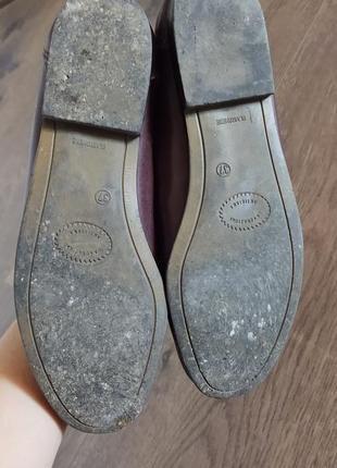 Женские кожаные туфли размер 367 фото