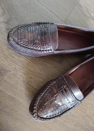 Женские кожаные туфли размер 364 фото
