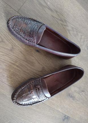 Женские кожаные туфли размер 369 фото