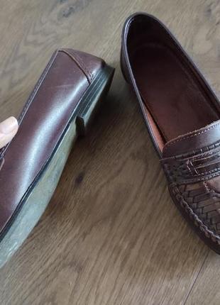 Женские кожаные туфли размер 368 фото
