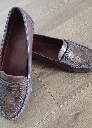 Женские кожаные туфли размер 361 фото