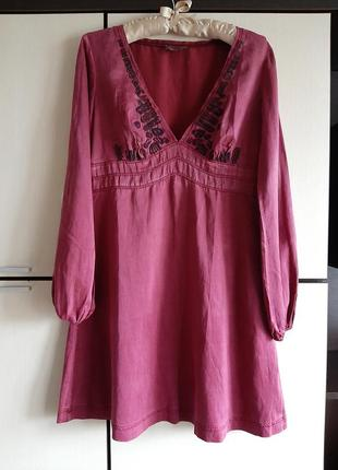 Шелковое платье replay1 фото