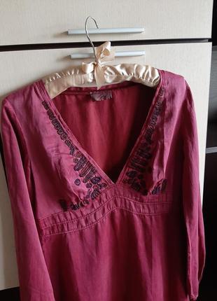 Шелковое платье replay2 фото