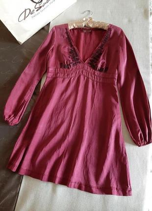 Шелковое платье replay6 фото