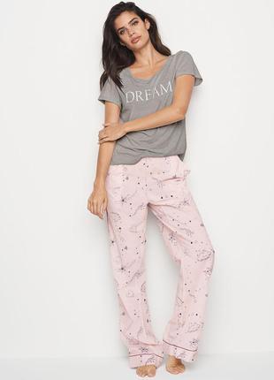 Victorias secret пижамные штаны виктория сикрет victoria secret