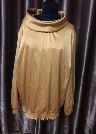 Блузка большой размер1 фото