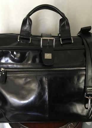 Статусная дорожная сумка 🧳 натуральная кожа