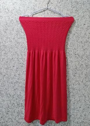 Платье-сарафан без бретелек