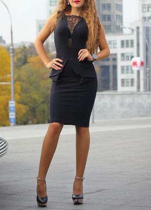 Комплект платье по фигуре и пиджак2 фото