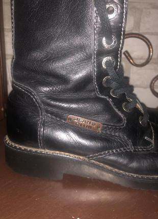 Зимние кожаные ботинки salamander- производства германии