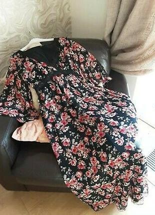 Шифоновое макси платье