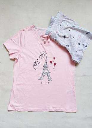 Комплект для дома и отдыха пижама летняя4 фото