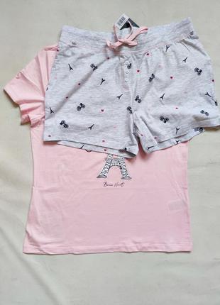 Комплект для дома и отдыха пижама летняя5 фото