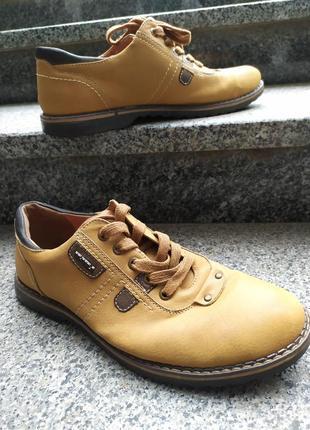 Чоловічі туфлі шкіра верх і сесередина р.40