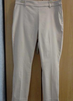 Супер брендовые брюки штаны высокая посадка