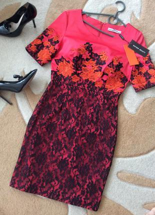 Шикарное вечернее нарядное платье-футляр. размер xs-s