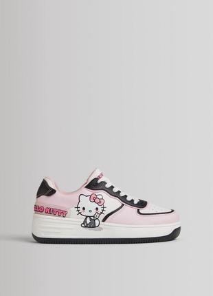 Кросівки bershka x hello kitty