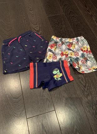 Пляжні шорти, плавки.