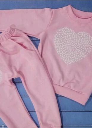 Спортивный костюм sweet для девочки 4-6 лет