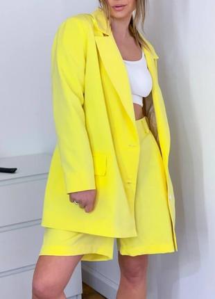 Женский оверсайз пиджак блэйзер