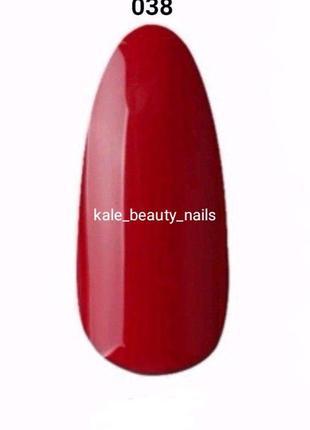 ❤️ красный гель-лак kale beauty nails