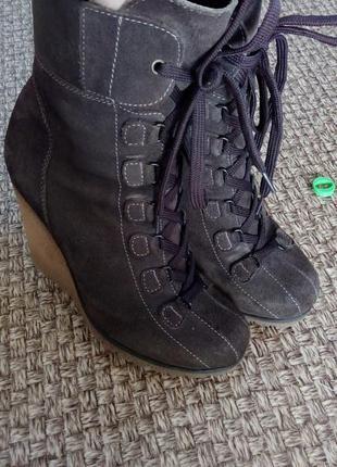 Зимние ботинки на меху 37-37,5