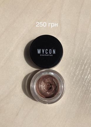 Стойкие кремовые тени для век wycon