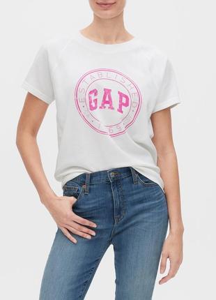 Женская летняя футболка gap гэп женские футболки оригинал