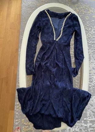 Выпускное платье вечернее платье с красивой спинкой