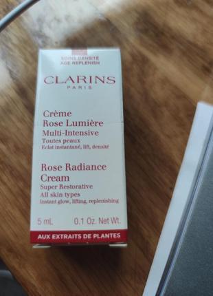 Крем clarins rose lumiere multi intensive