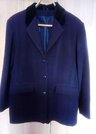 Пиджак теплый классический sixth sense шерсть