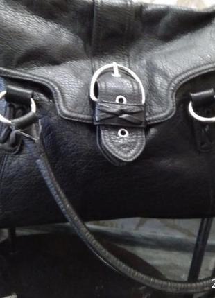 Hm сумка дорожная эко кожа