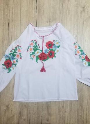 Вышиванка для девочки рр.116-152