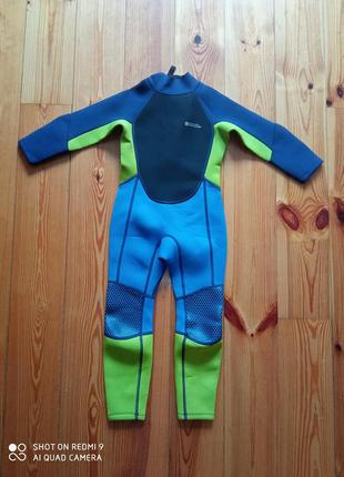 Гидрокостюм длинный детский для мальчика дитячий гідрокостюм для дайвінгу