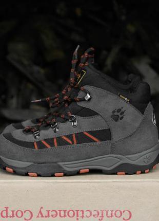 Jack wolfskin texap o2 re р.38-24,5см непромокаемые ботинки.