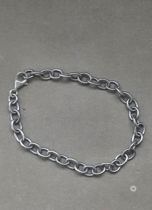 Красивый браслет винтаж,серебро в виде веницианского плетения