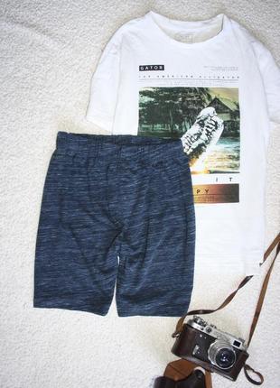 Натуральные легкие шорты на мальчика