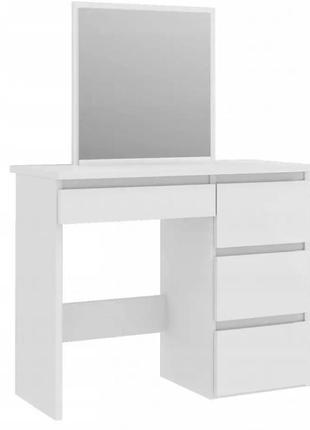 Косметический столик bonro-b074 белый (20000039)