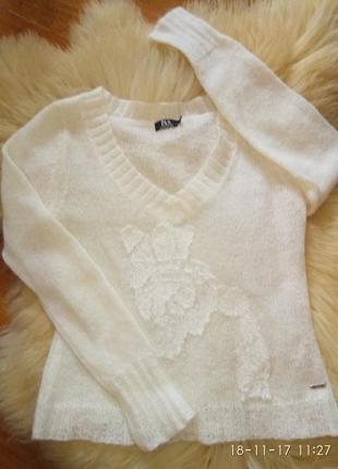 Мохеровые свитер