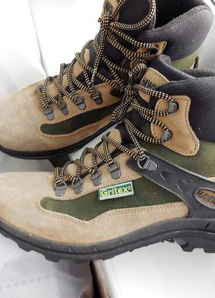 Зимние термо ботинки asolo для трекинга hawks gritex 41р.-26,5см