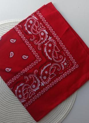 Бандана на голову косинка повязка хустинка