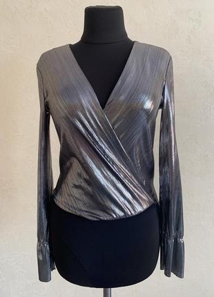 Bershka боді блуза кофточка нарядна