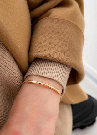 Масивный браслет цепь широкий браслет подвеска