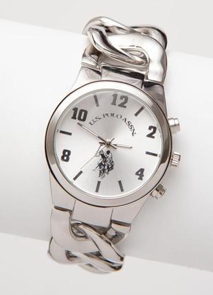 Стильные женские часы серебро silverstone chain watch