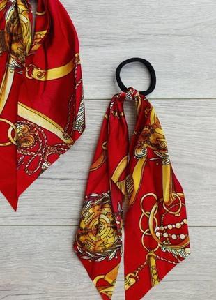 Резинка твіллі платок