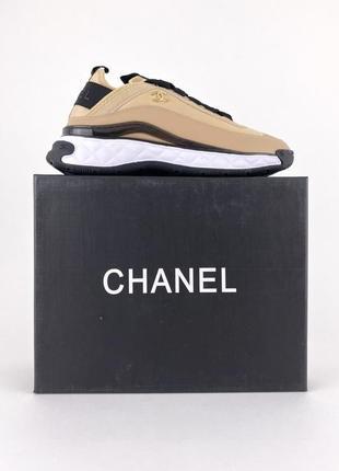 Sneakers beige black женские песочные бежевые премиум кроссовки стильные жіночі бежеві кросівки