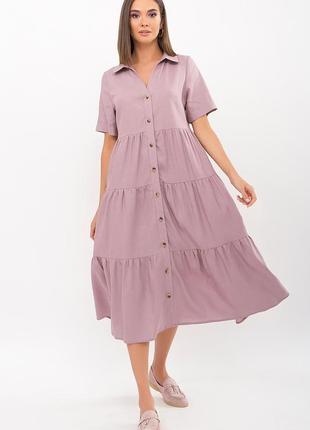 """Платье """"иветта"""" лиловый"""