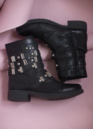 Теплые ботинки carlos simoca